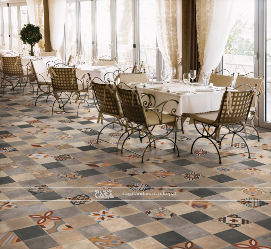 Ceramica Rondine Swing Beige Multicolor Mix  1