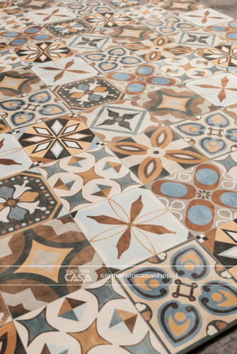 Ceramica Sant'Agostino Patchwork Colors Colors Mix  9
