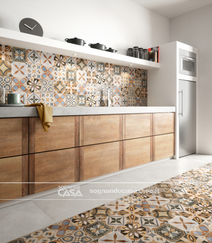 Ceramica Sant'Agostino Patchwork Colors Colors Mix  8