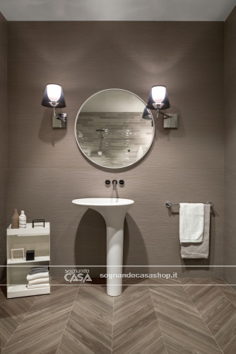 Ceramica Sant'Agostino Shadebox                  Shadelines Taupe  15