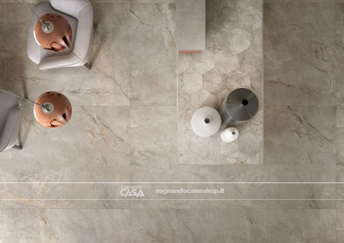Ceramiche Keope Elements Lux Silver Grey  30